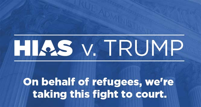 Venerable Jewish resettlement agency argues its own work on behalf of refugees was unconstitutional