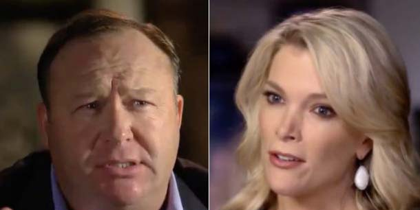 Facing Alex Jones, NBC's Megyn Kelly manages to avoid a worst-case outcome