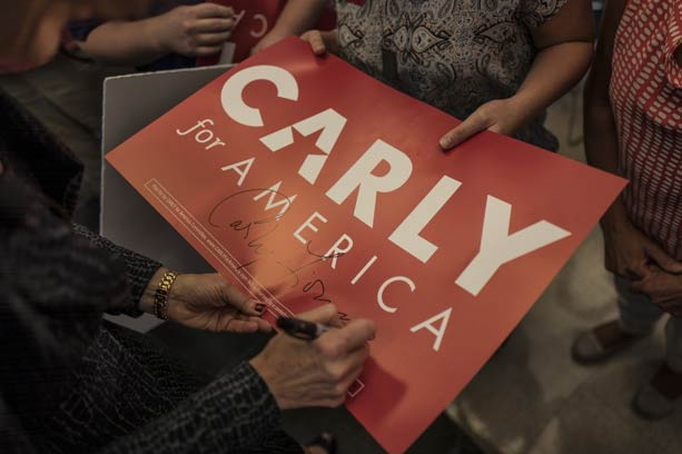Why Carly Fiorina might match the moment