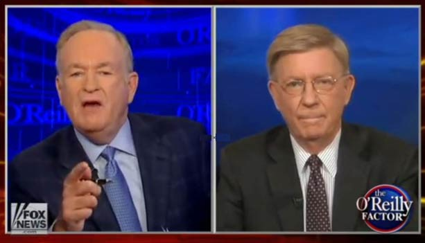 In epic clash with George Will over book, Bill O' renounces journalism
