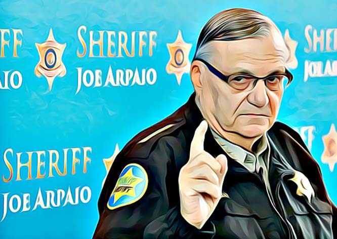 Sheriff Joe finds a little justice