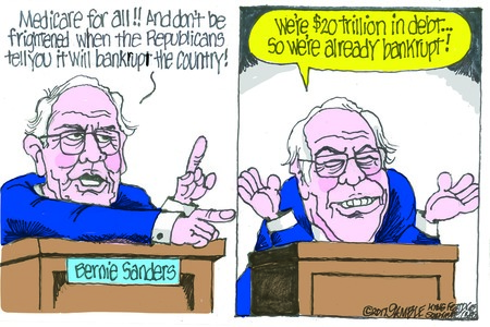 'Crazy Bernie' is at it again