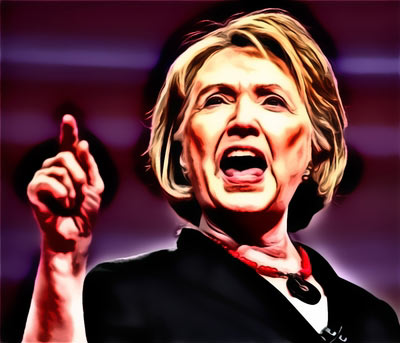 Hillary demonstrates the peril in running a mouth