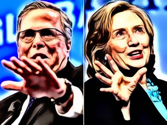 Should Jeb have fired back when Hillary attacked?