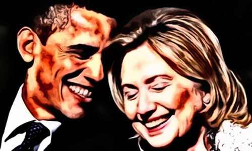 Hillary and Obama are on the wrong side of history