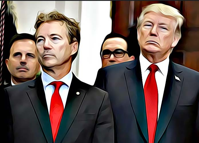Why is Rand Paul, of all people, Trump's biggest defender on Russia?