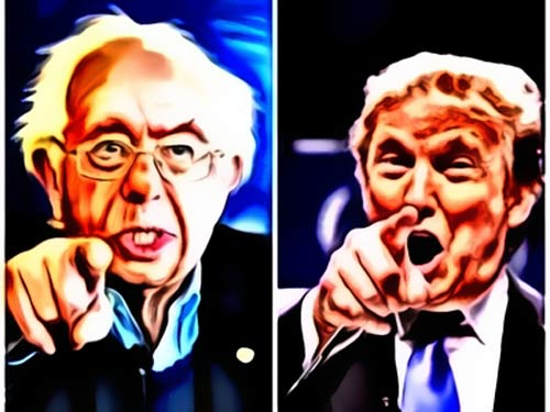 Sanders and Trump: Magic sells