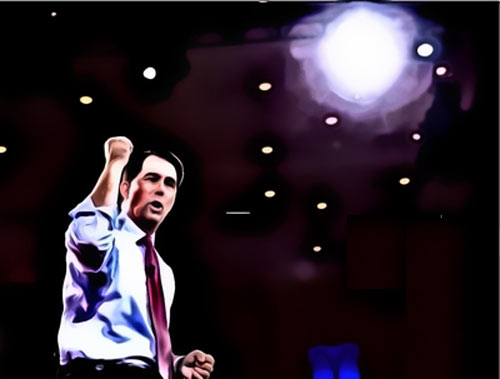 It's prime time for Scott Walker, whether he's ready or not
