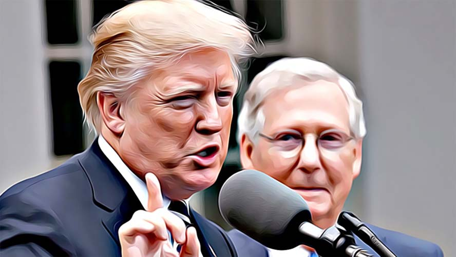 Trump and McConnell, once adversaries, have realized they need one another