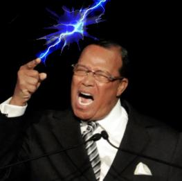 Farrakhan strikes Ferguson again