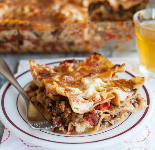 A lasagna unlike any other --- easy, adaptable. Better technique and  atypical ingredients