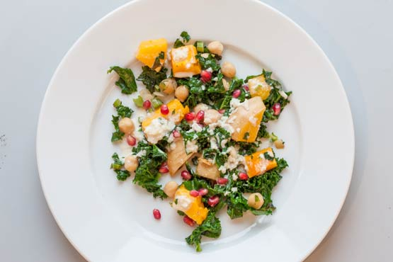 Here's to the simple, exotic salads of winter; recipe