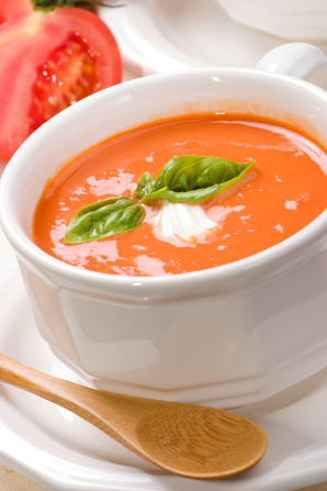 The Pure Taste of Summer: Corn and Tomato Soup
