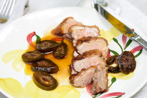 Creole Duck Breast With Sweet and Sour Figs