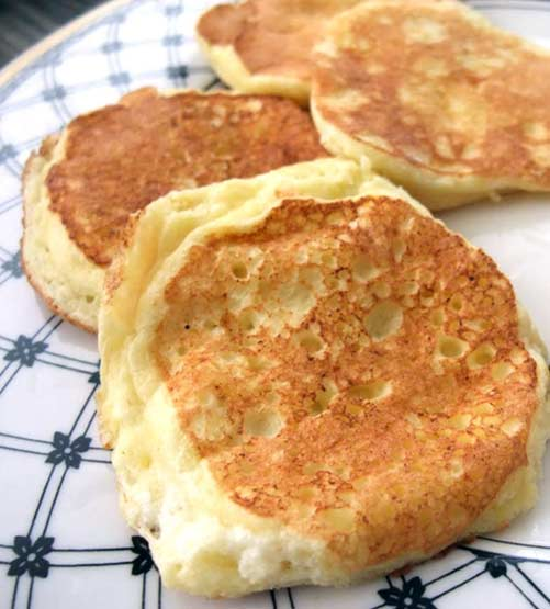 They're Delicious! Who cares if these Lemon Ricotta Pancakes have plenty of protein, almost no carbs
