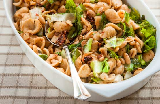This pasta rocks the carbs!