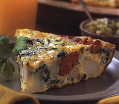 Winter Frittata, a One-Dish  Brunch You Can't Screw Up