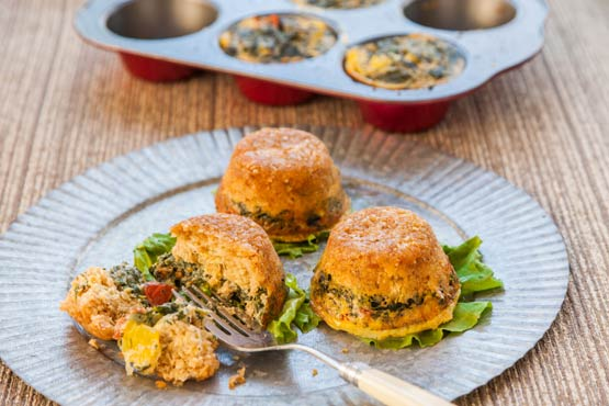 Tuna Spinach Tortas: An elegant, easy late-night supper