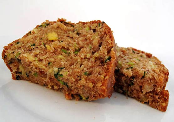 Zucchini Pineapple Bread --- Sweet, moist and easy