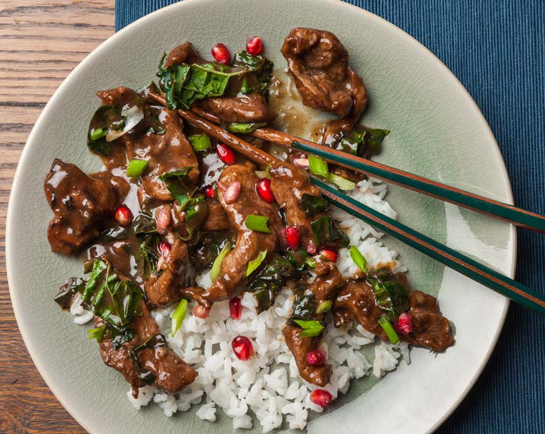 If you want to mix it up, a duck stir-fry fits the bill