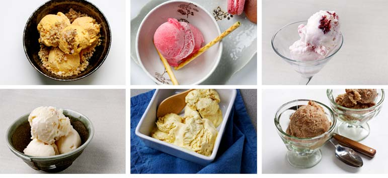 6 new and unusual flavors to try, and some don't even require an ice cream machine