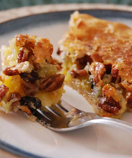 This pie offers a creative twist on  an already delectable Southern favorite