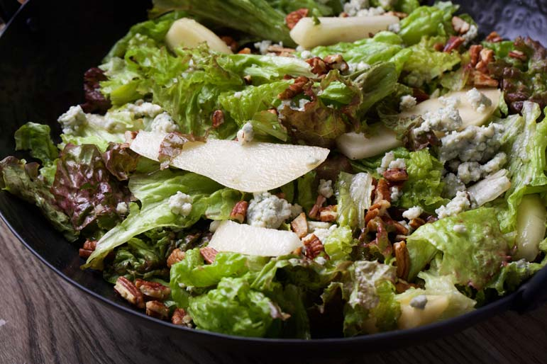 This simple but sumptuous salad is a symphony of tastes and textures