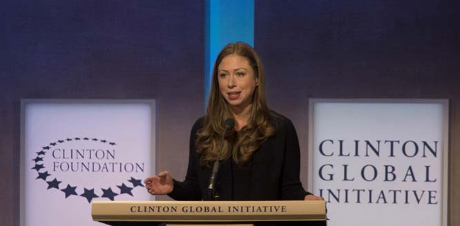 Chelsea Clinton's Cheerleading Cult