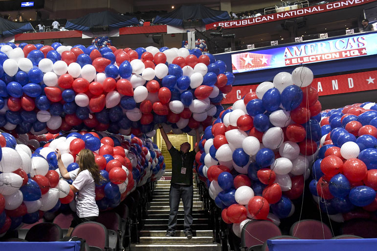 A world in turmoil raises the bar for the party conventions
