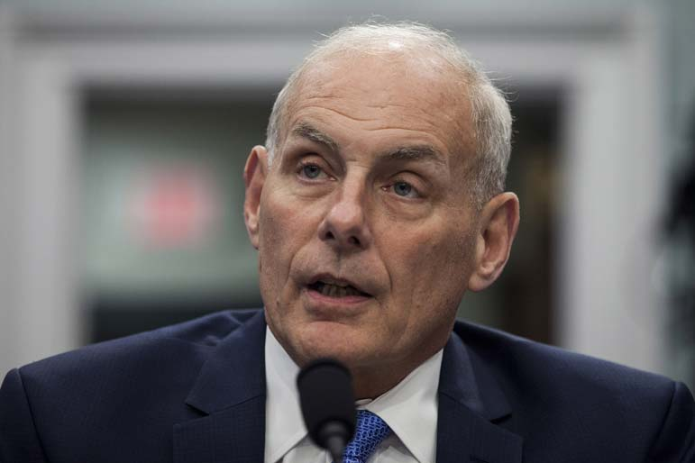 John Kelly offers Washington a Xanax