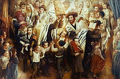 Revealed: <I>Simchas Torah</I> secrets