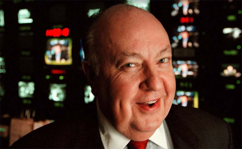 The house that Roger Ailes built is sliding