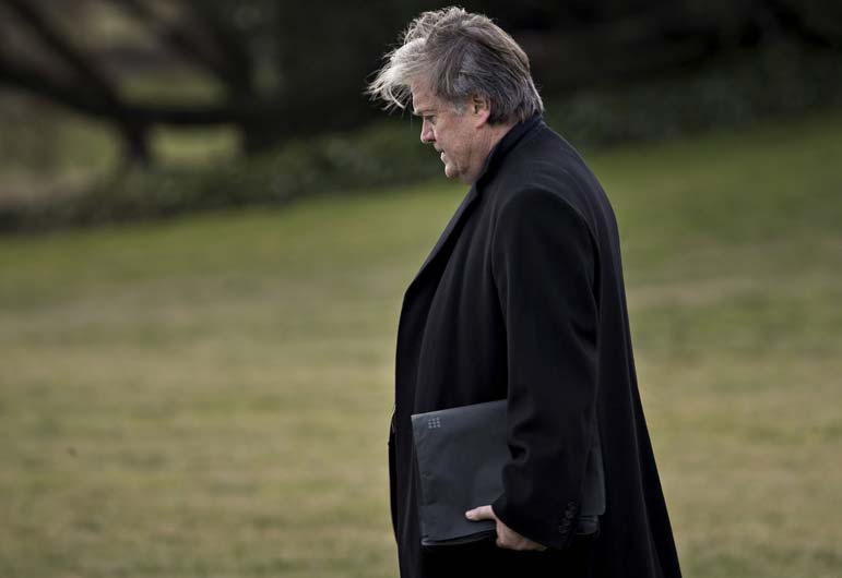 With Bannon gone, maybe a Trump coalition can emerge
