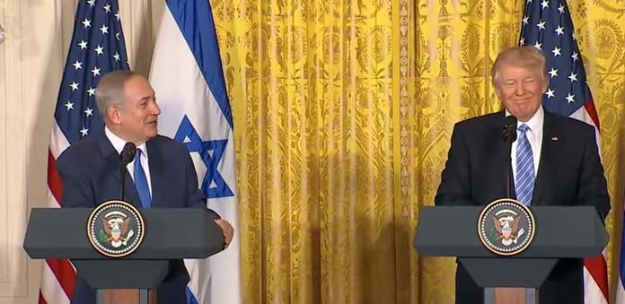 Has the American president just run interference for the Israeli PM?