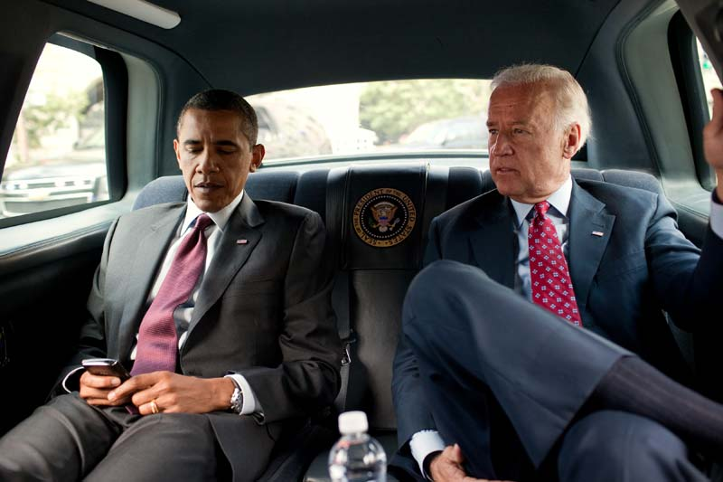 Biden leans on Obama, even without an endorsement