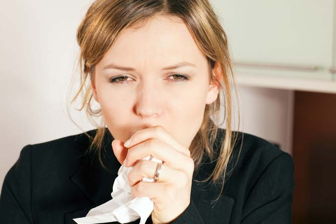 The girl who couldn't stop coughing