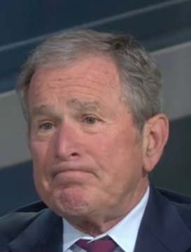 George W. Bush gives lesson in laughing at ourselves