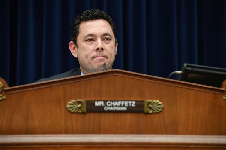 About to quit Congress, Chaffetz suddenly becomes face of its Trump investigation