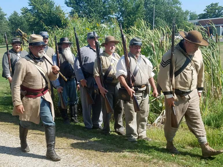 Will Civil War re-enactments die out?