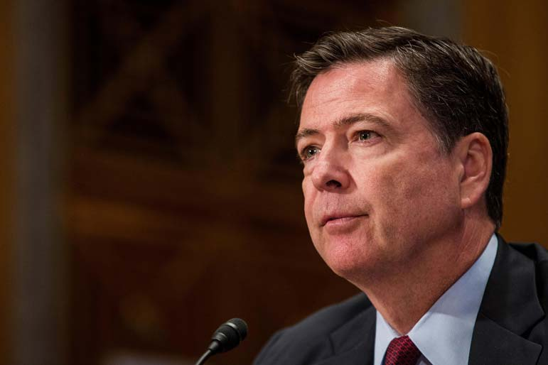 Comey is now the most powerful person in Washington