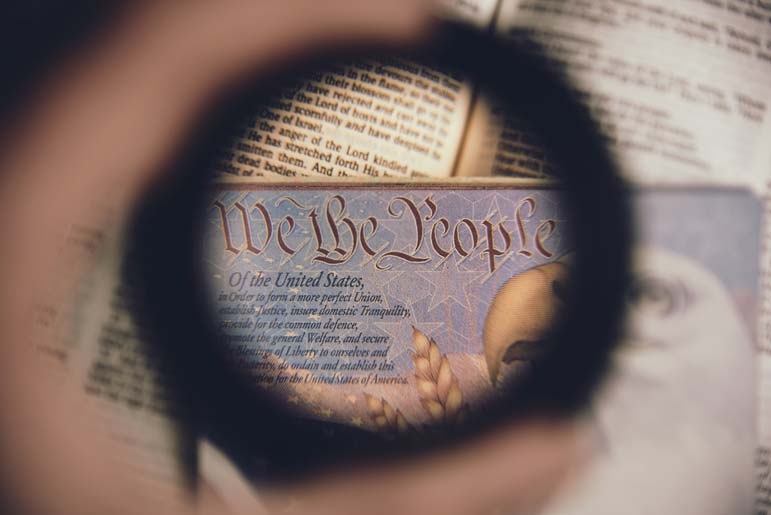 The Constitution doesn't guarantee your anonymity