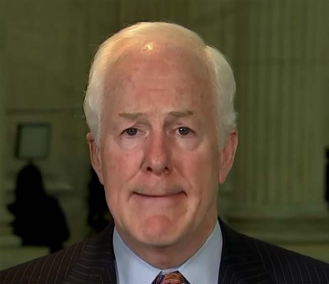 Cornyn's own GOP colleagues are less than enthusiastic about his candidacy for FBI director