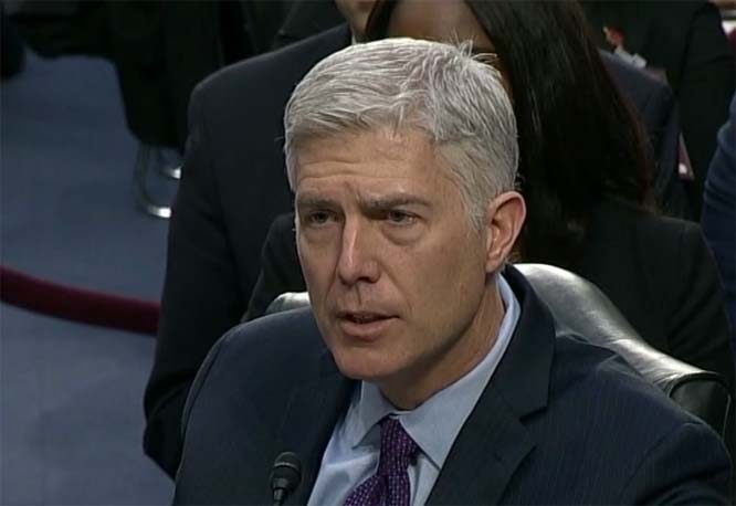 Gorsuch wins the day