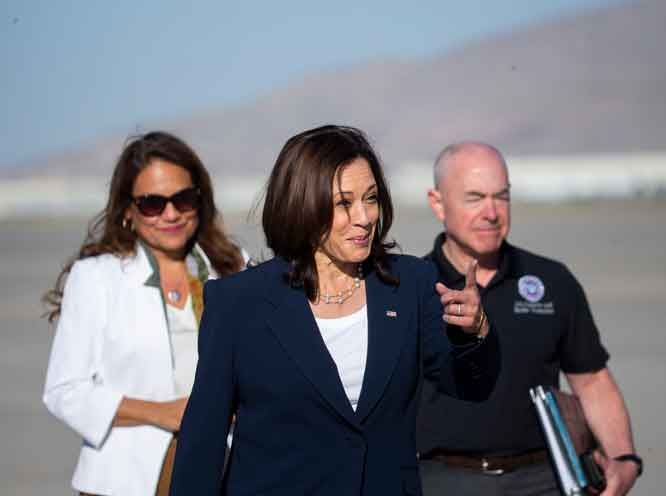 There are lies, damn lies  . . . and then there is Kamala Harris