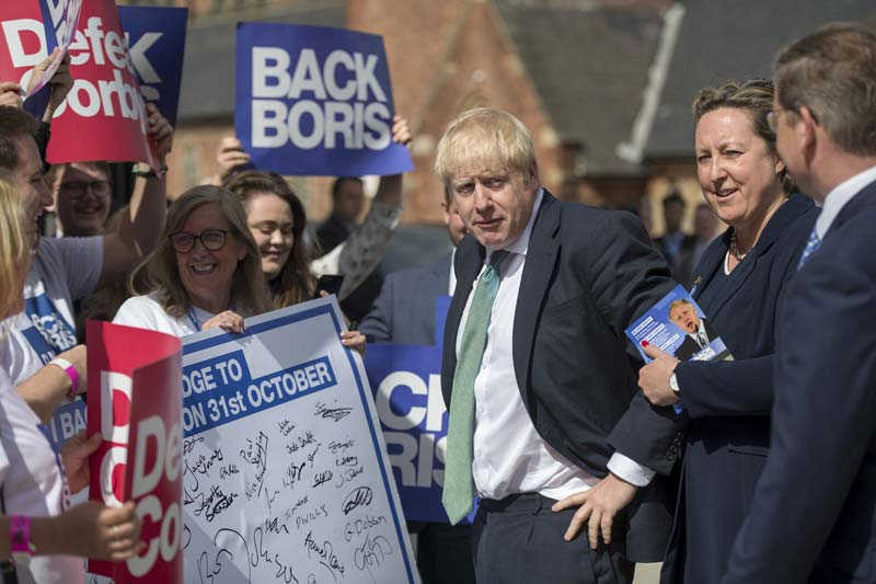 Here Comes Boris -- and Donald, Too