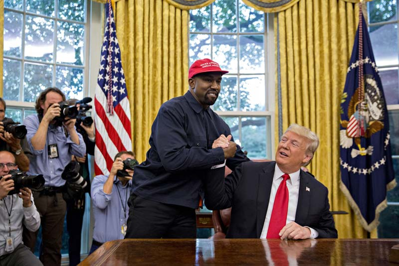 Dems and the lib media are afraid of Kanye West. What else explains their behavior?