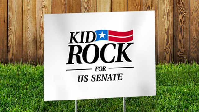 Trying different things? Can Republicans accept Kid Rock?