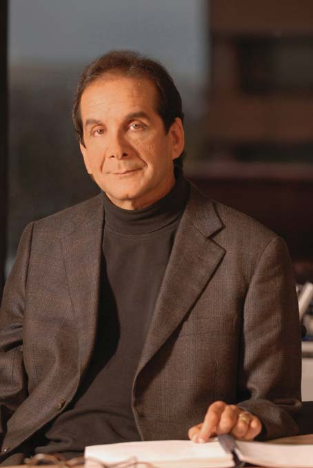 The Charles Krauthammer I knew