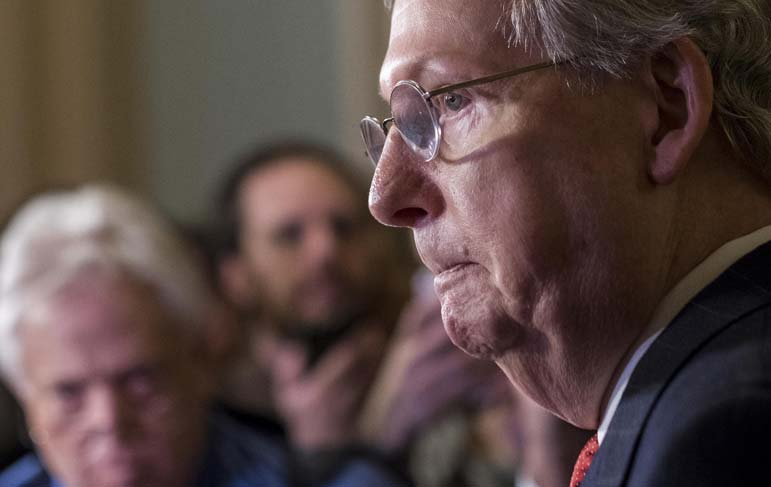 Trump's agenda is now squarely in Mitch McConnell's, and the Senate's, hands