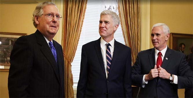 Gorsuch faces 3 issues that divide conservatives